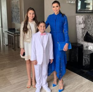 Heather Dubrow Instagram post- daughter suit
