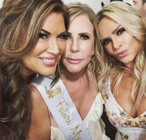 Vicki Gunvalson Emily Simpson Tamra Judge Vicki engagement party