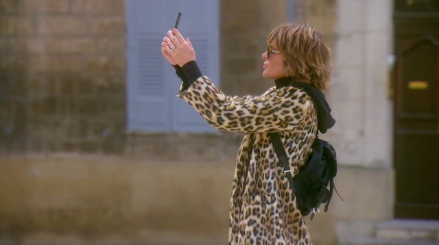 Lisa Rinna in France - Real Housewives Of Beverly Hills