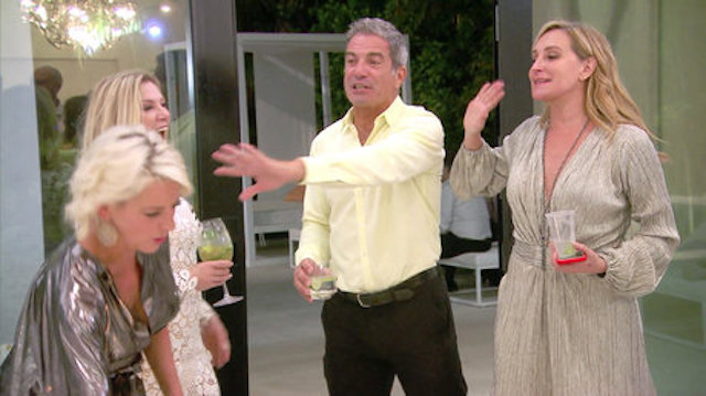 Ramona Singer, Mario Singer, and Sonja Morgan