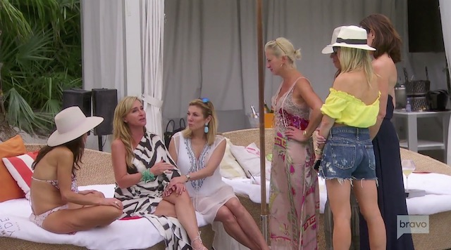 Sonja Morgan freaks out at Miami hotel