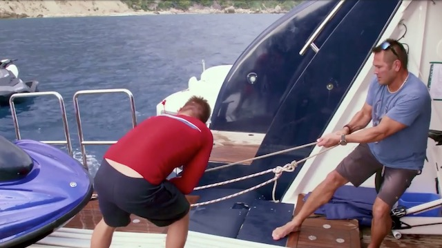 Johnny Damon Below Deck Mediterranean