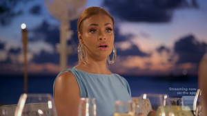 Robyn Confronts Gizelle On Tonight's Real Housewives Of Potomac Episode