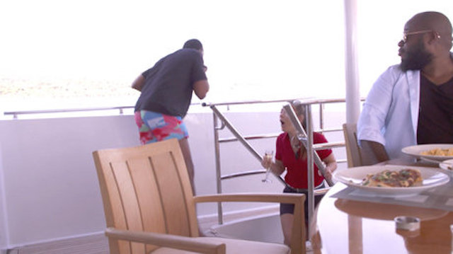 Below Deck Mediterranean Seasick Guest
