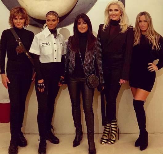 Real Housewives Of Beverly Hills In Rome- Check Out The Photos!