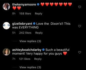Robyn Dixon Engagement Comments