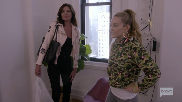 Real Housewives Of New York Luann de Lesseps Leah McSweeney