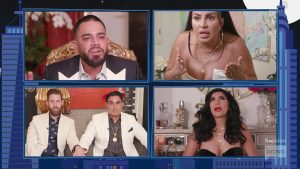 Shahs Of Sunset reunion Mike Shouhed yelling Mercedes Javid MJ javid
