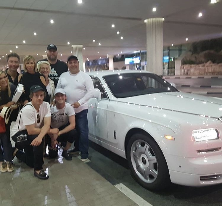 The Group With A Car