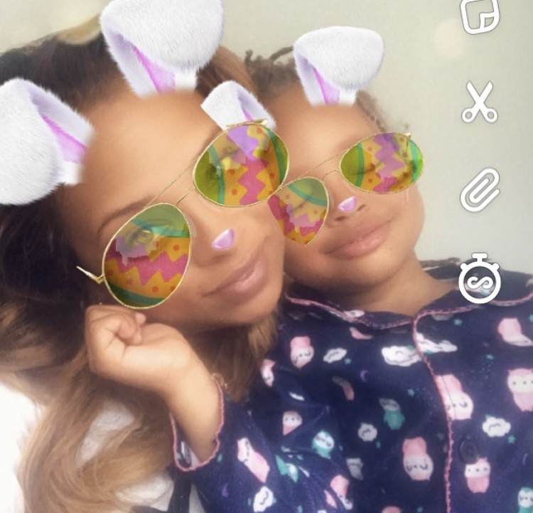 Eva Marcille With Her Daughter