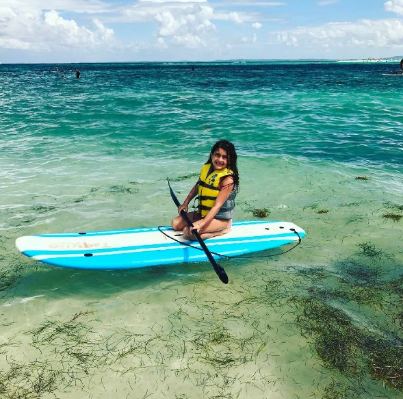 Audriana Paddle Boarding