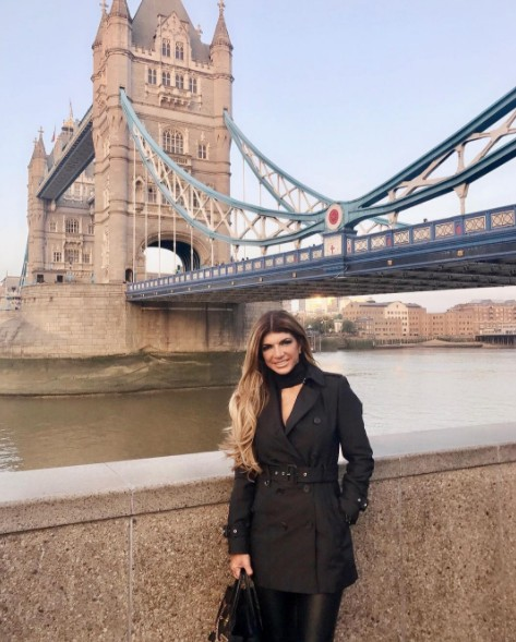 Teresa Giudice In London