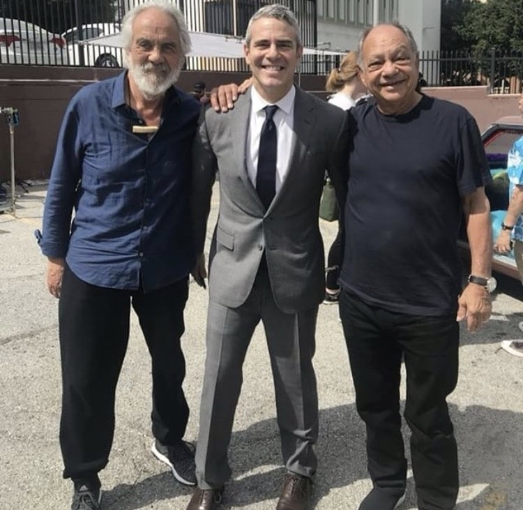 Andy Cohen With Cheech & Chong