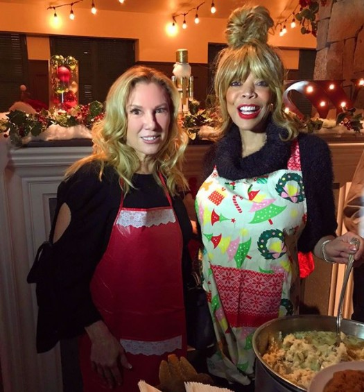 Ramona Singer Cooking With Wendy Williams