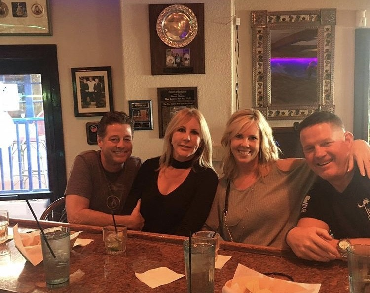 Vicki Gunvalson On A Double Date With Steve Lodge, Her Sister, & Her Sister's Husband