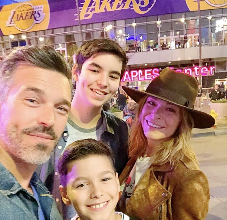 LeAnn Rimes & Eddie Cibrian With His Sons