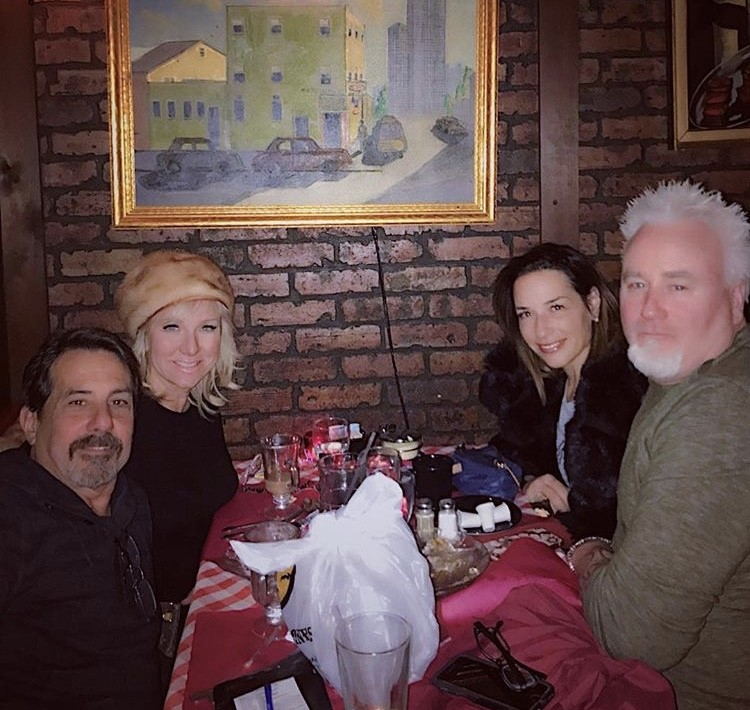 Margaret Josephs & Joe Benigno Out With Friends