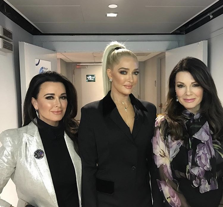 Kyle Richards, Erika Girardi, & Lisa Vanderpump