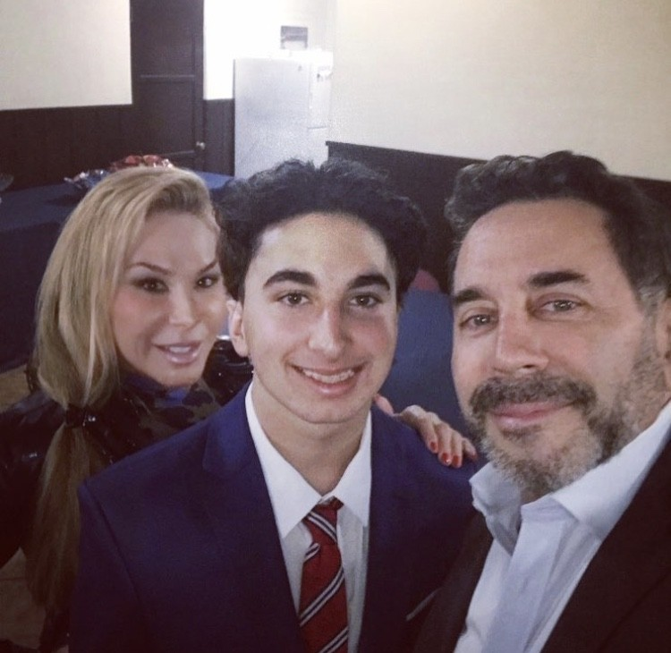 Adrienne Maloof & Paul Nassif With Their Son