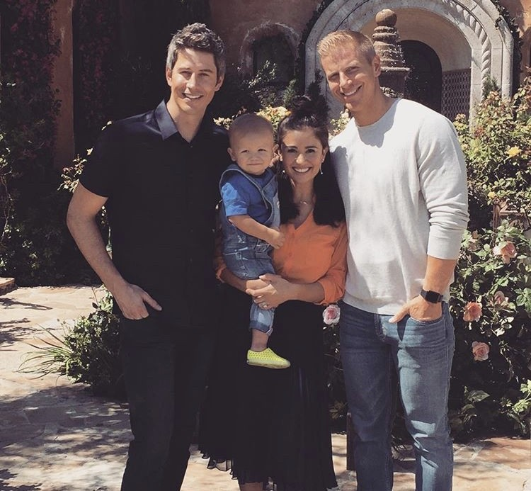 Arie Luyendyk Jr. With Sean & Catherine Lowe