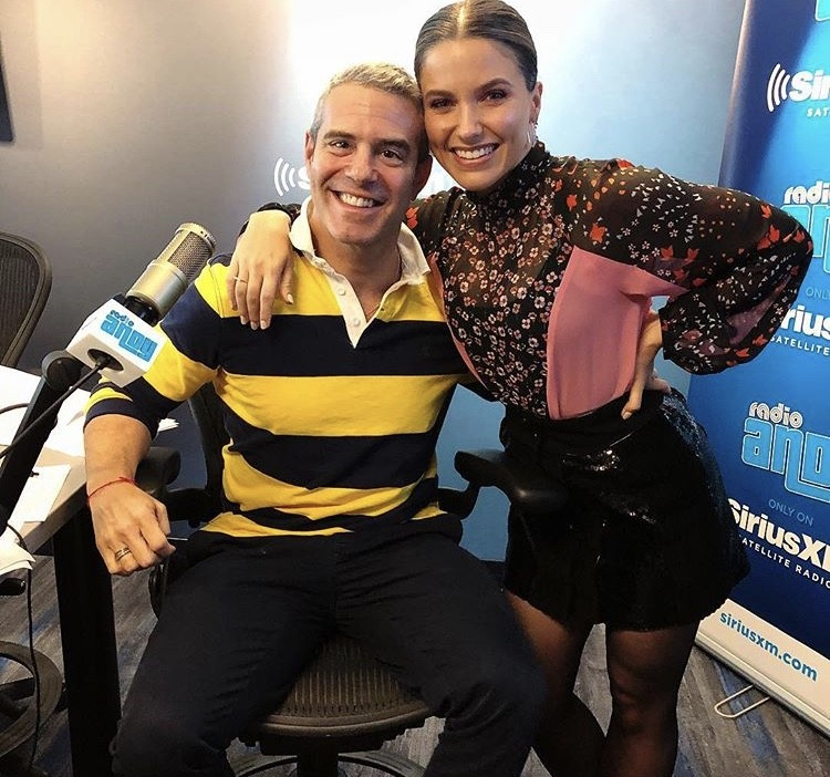 Andy Cohen With Sophia Bush