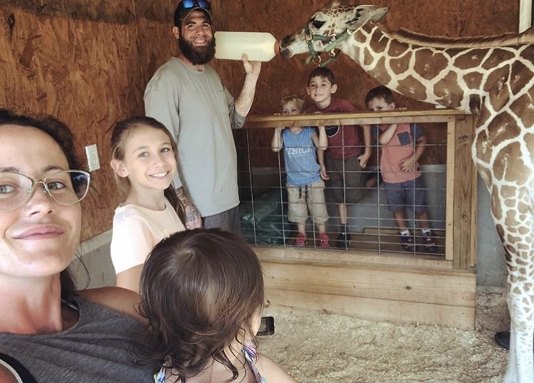 Jenelle Evans & David Eason With Their Family