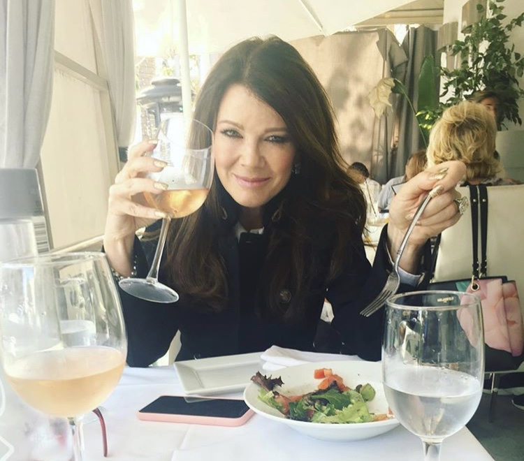 Lisa Vanderpump At Lunch