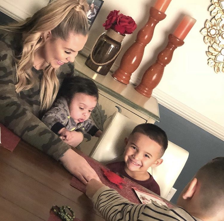Kailyn Lowry With Her Kids