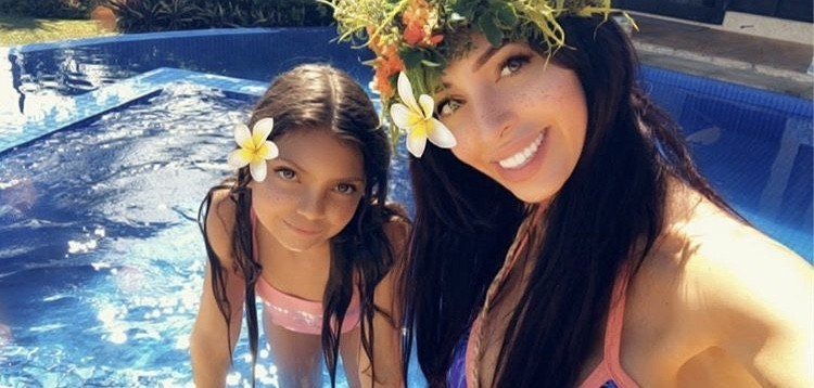 Farrah Abraham With Her Daughter Sophia
