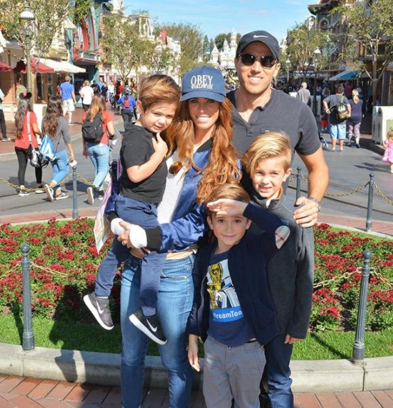 Lydia McLaughlin With Her Family At Disneyland