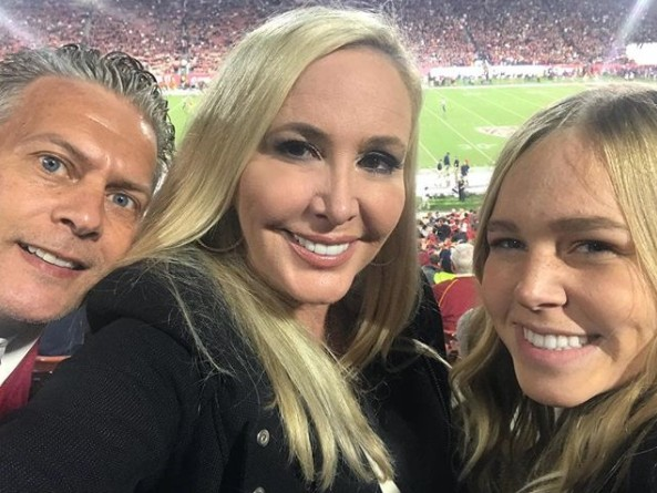 Shannon Beador With David & Their Daughter