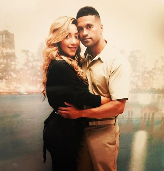 Apollo Nida & His Fiancée Sherien Almufti