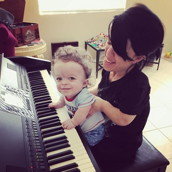 Briana Renee With Her Son Maverick