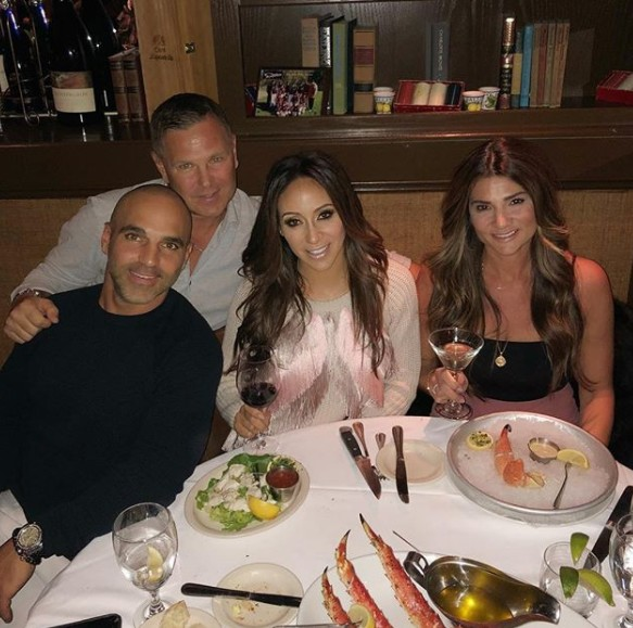 Melissa & Joe Gorga Out With Friends