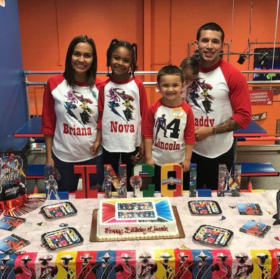 Briana DeJesus & Javi Marroquin At Lincoln's Birthday
