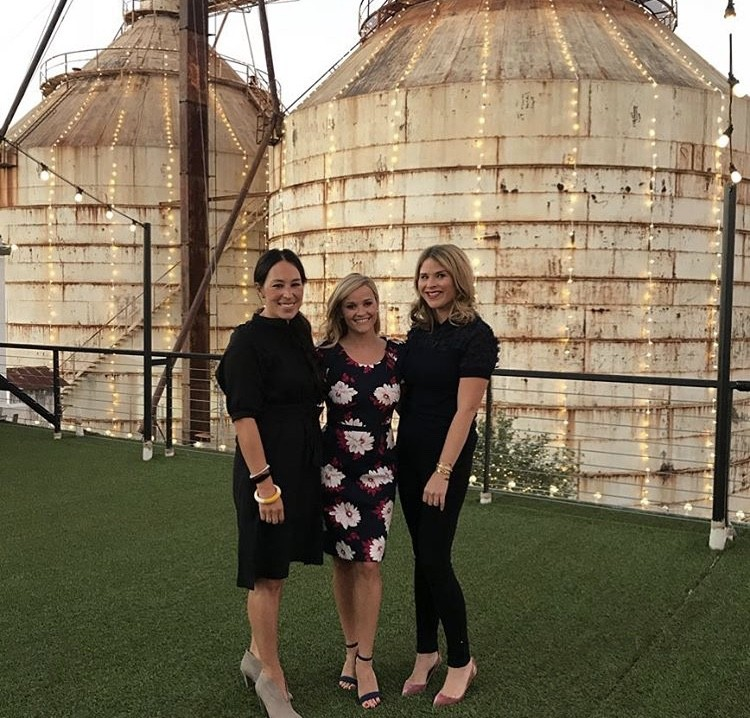 Joanna Gaines, Reese Witherspoon, & Jenna Bush Hager
