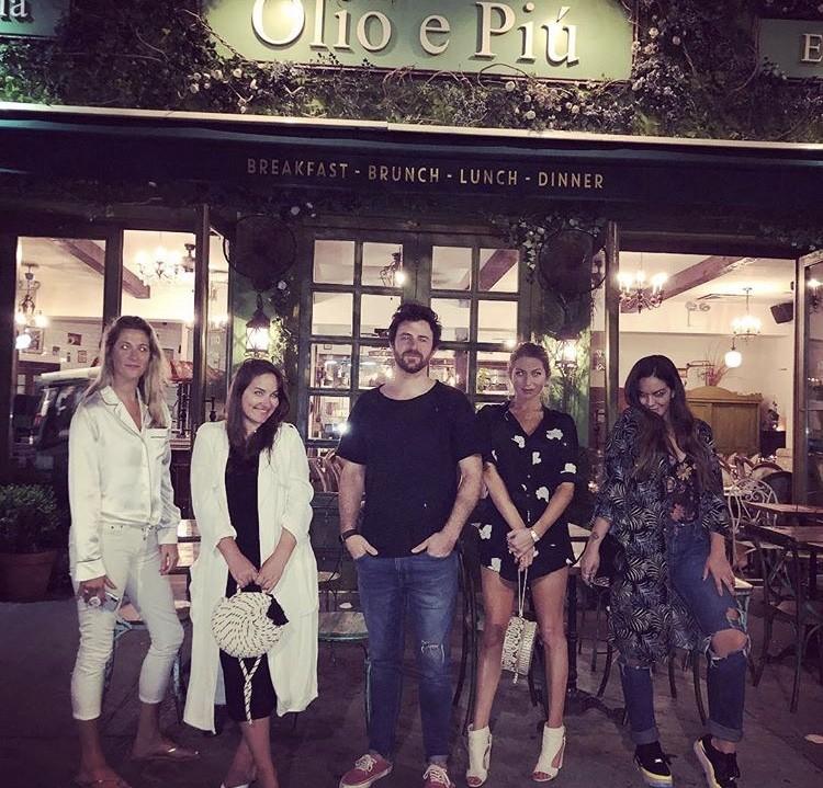 Stassi Schroeder, Beau Clark, & Katie Maloney With Friends