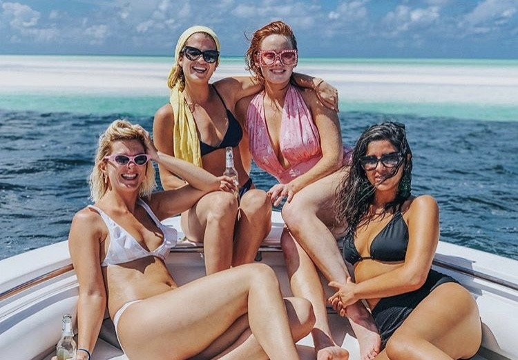 Kathryn Dennis & Naomie Olindo With Friends