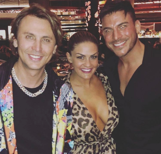 Brittany & Jax With Jonathan Cheban