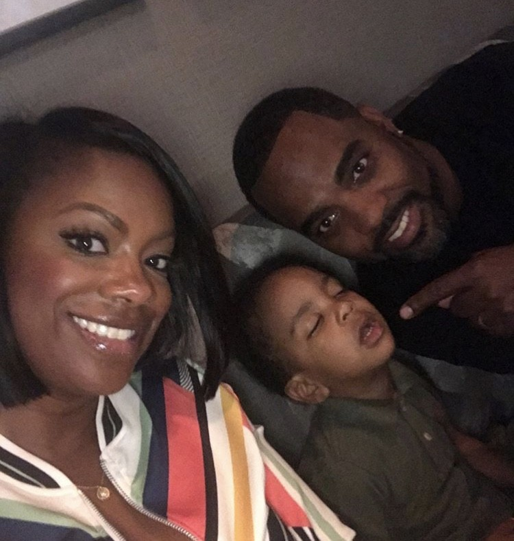 Kandi & Todd With Their Son Ace