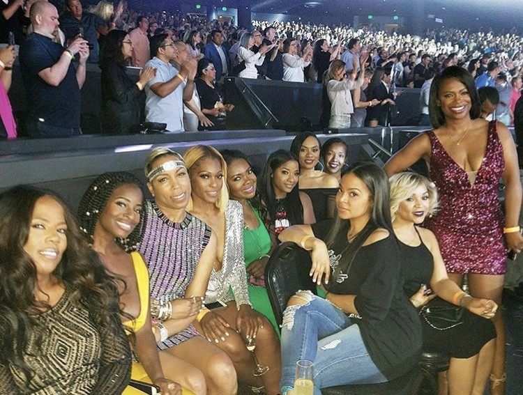 Kandi & Her Friends At The Jennifer Lopez Show