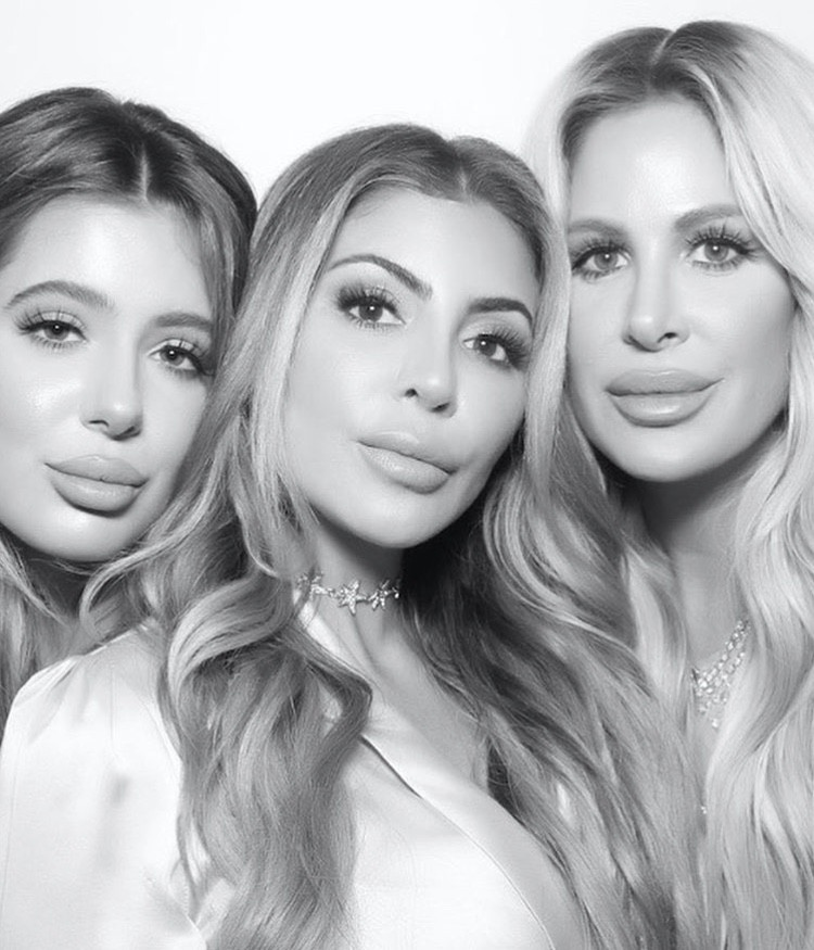 Brielle Biermann, Larsa Pippen, & Kim Zolciak