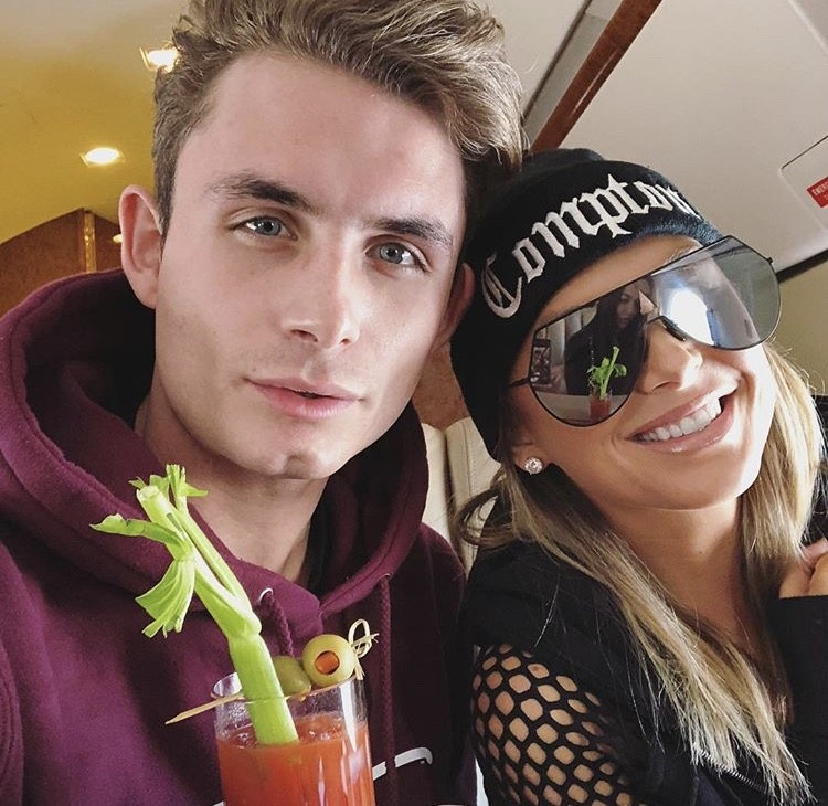 James Kennedy & Lala On The Flight
