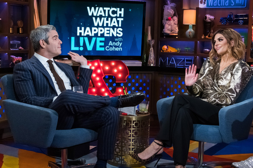 Andy Cohen & Lisa Rinna