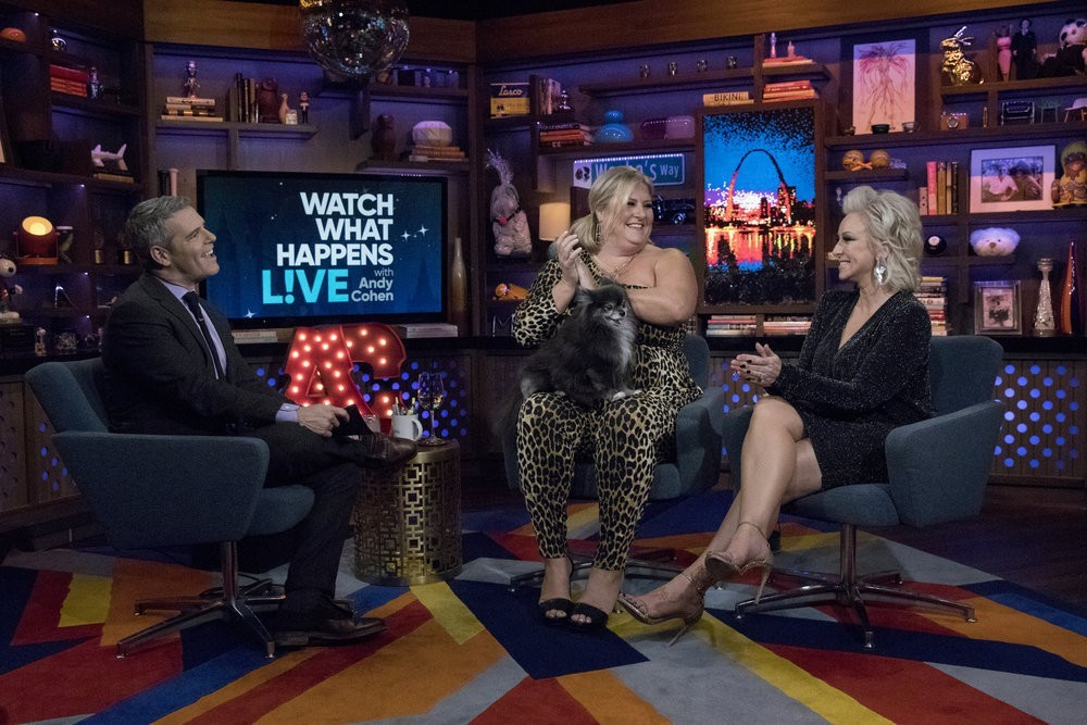 Andy Cohen, Bridget Everett, & Margaret Josephs