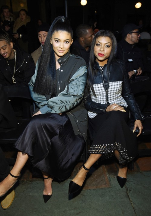 Kylie and Taraji