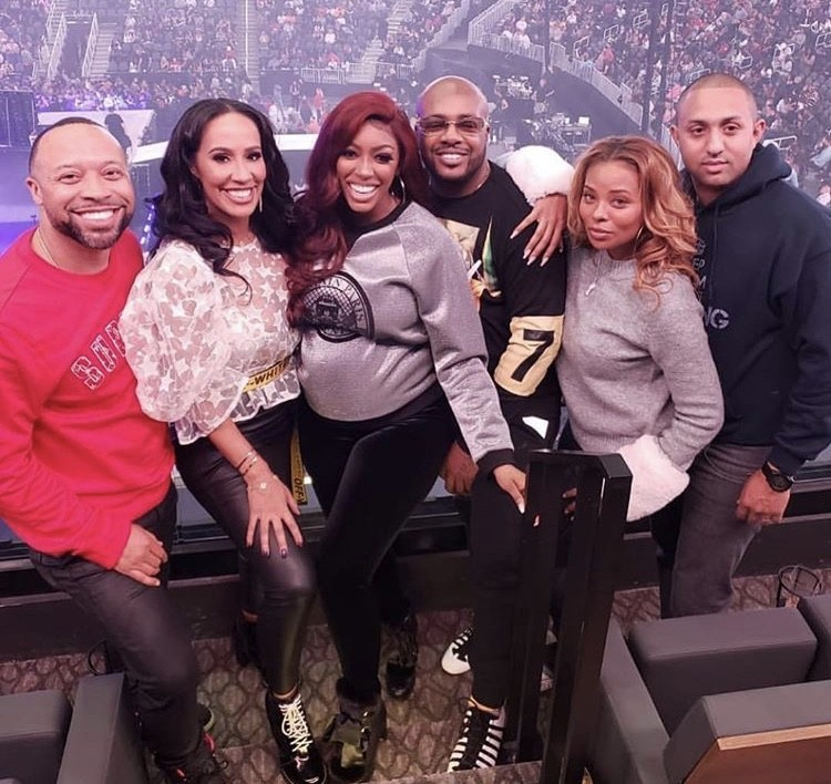 Paul Judge, Tanya Sam, Porsha Williams, Dennis McKinley, Eva Marcille, & Michael Sterling