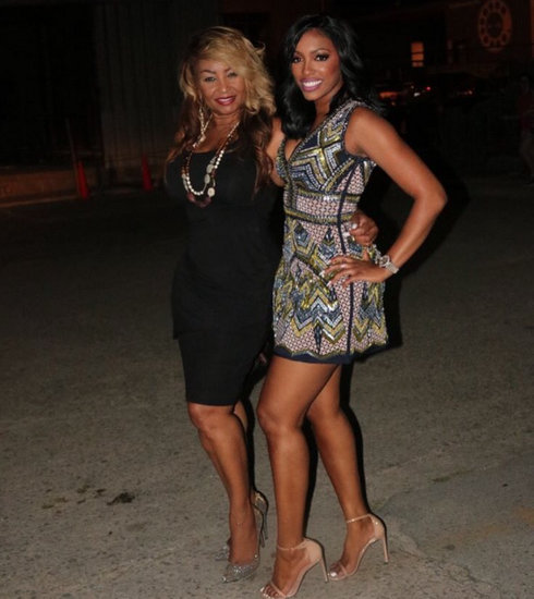 Porsha With Her Mom