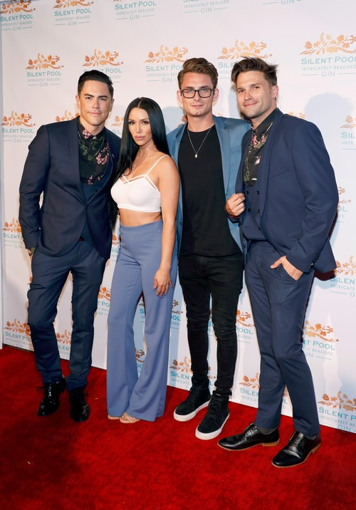 Tom, Scheana, James, Tom