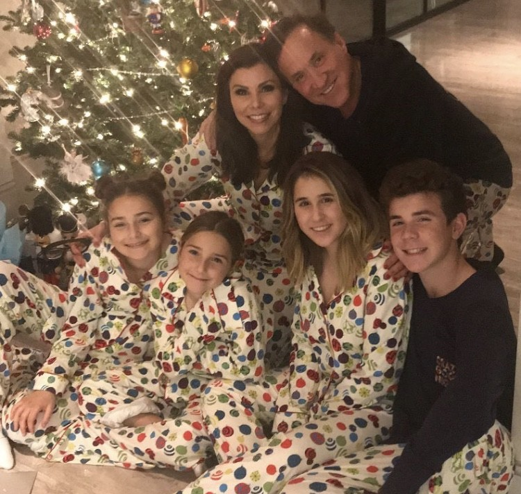 Heather & Terry Dubrow With Their Kids